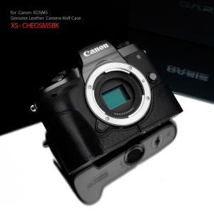 GARIZ/ゲリズ Canon EOS M5用 本革カメラケース XS-CHEOSM5BK ブラック|laughs