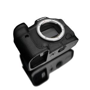 GARIZ/ゲリズ Canon EOS R5/R6 兼用 本革カメラケース XS-CHEOSR5BK ブラック laughs