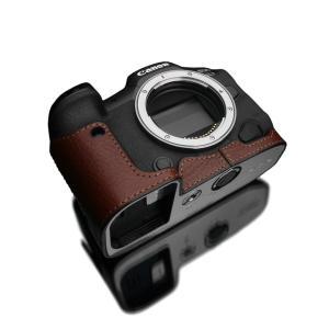 GARIZ/ゲリズ Canon EOS R5/R6 兼用 本革カメラケース XS-CHEOSR5BR ブラウン laughs