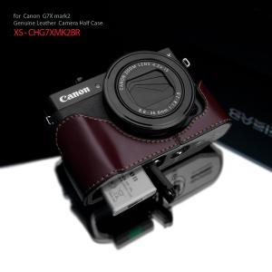 GARIZ/ゲリズ Canon G7X Mark2用 本革カメラケース XS-CHG7XMK2BR ブラウン|laughs
