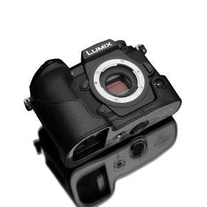 GARIZ/ゲリズ 本革カメラケース Panasonic LUMIX G9 PRO(DC-G9)用 本革カメラケース XS-CHG9BK ブラック|laughs