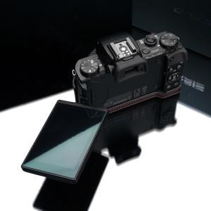 GARIZ/ゲリズ Canon G5X用 本革カメラケース XS-CHG5XBR ブラウン|laughs|06
