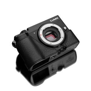 GARIZ/ゲリズ Panasonic LUMIX GX7 MarkIII(DC-GX7MK3)用 本革カメラケース XS-CHGX7M3BK ブラック|laughs
