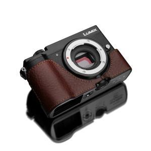 GARIZ/ゲリズ Panasonic LUMIX GX7 MarkIII(DC-GX7MK3)用 本革カメラケース XS-CHGX7M3BR ブラウン|laughs