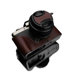 GARIZ/ゲリズ FUJIFILM X-T100用 本革カメラケース XS-CHXT100BRN ...