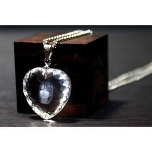 お手持ちの写真からオリジナル記念品を作成 Laser Crystal Art ネックレスタイプ ハートダイヤ|laughs