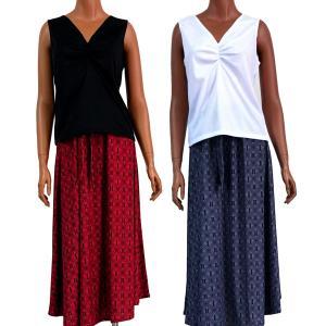 ラウレア ハワイ 2way スカート ワンピース アロハ フラ  タパ  リーフ|lauleahawaii