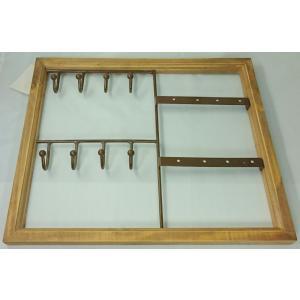 アクセサリーホルダー キーフック 鍵置き ディスプレイ アクセサリー収納 ホワイト ブラウン |laurier