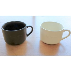 ちょこっと 耐熱マグカップ ホワイトorブラウン|laurier