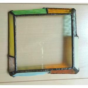 ステンドグラス ガラスプレート ジュエリートレイ グリーン |laurier|03