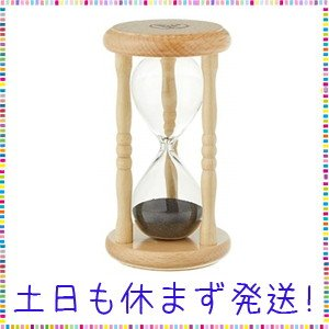 佐藤計量器(SATO) 砂時計 3分計 木製 1734-30|lavender-garden