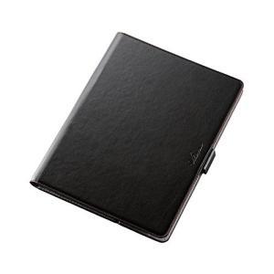 エレコム iPad Pro 9.7 (2016) ケース ソフトレザーケース 360度回転 ブラック TB-A16360BK|lavender-garden
