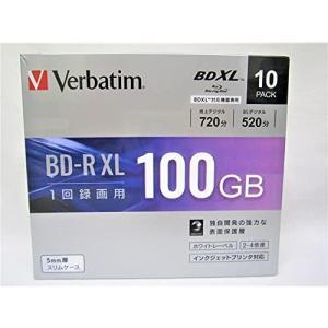 三菱化学メディア 4倍速対応BD-R XL 10枚パック 100GB ホワイトプリンタブル VBR520YP10D1|lavender-garden