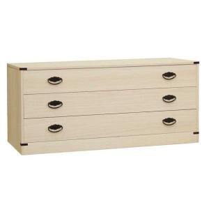 桐タンス 桐たんす 桐チェスト 着物 衣類 洋服 衣装 収納 国産 日本製 咲 3段|lavender-house