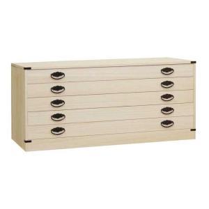 桐タンス 桐たんす 桐チェスト 着物 衣類 洋服 衣装 収納 国産 日本製 咲 5段|lavender-house