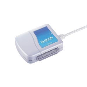 エレコム ゲームパッドコンバータ USB接続 プレステ/プレステ2コントローラ対応 1ポート JC-PS101USV|lavieshop