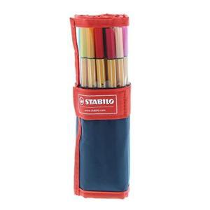 スタビロ 水性ペン ポイント88 ペンケースローラー 25色セット8825-021 lavieshop