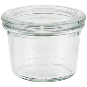 ウェック Mold Shape ガラス キャニスター 80ml WE-080 lavieshop