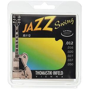 Thomastik-Infeld フラットワウンド・ギター弦 12-50 ミディアム・ライトゲージ JS112|lavieshop
