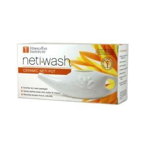 ネティウォッシュ セラミック・ネティポット Neti Wash Ceramic Neti Pot|lavieshop
