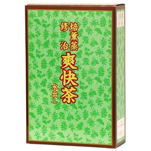 自然健康社 爽快茶・箱 9.5g×30パック カップ出し用ティーバッグ|lavieshop