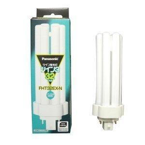 パナソニック 10個セット コンパクト形蛍光灯 32W ナチュラル色(3波長形昼白色) ツイン蛍光灯 ツイン3(6本束状ブリッジ) FHT32EX-N|lavieshop