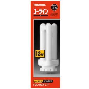 東芝 コンパクト形蛍光ランプ18形・電球色ユーライン2 FDL18EXLT lavieshop