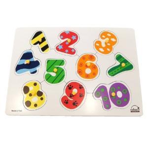 エデュコ 知育玩具 パズル ナンバー10 lavieshop