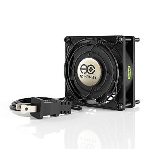 ACインフィニティAXIAL 8025、マフィン冷却ファン、UL認定115V AC 80mm×80mm×25mm高速 lavieshop