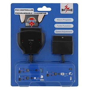 [MAYFLASH]PS1/PS2用コントローラに連射/マクロ機能を付加させる変換コンバータ(新型版)[SRPJ0298]|lavieshop
