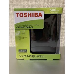東芝 USB3.0接続 ポータブルハードディスク 500GB(ブラック)CANVIO BASICS(HD-ACシリーズ) HD-AC50GK|lavieshop