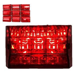 Kstyle LED 角マーカー 赤 10個セット 24V サイドマーカー ランプ アンダー ライト ダウンライト トラック デコトラ 防水 エアーコ lavieshop