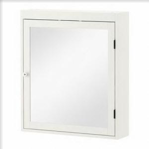 扉は右開きにも左開きにも取り付けられます 狭いバスルームに最適です ミラーの裏面に飛散防止フィルムを...