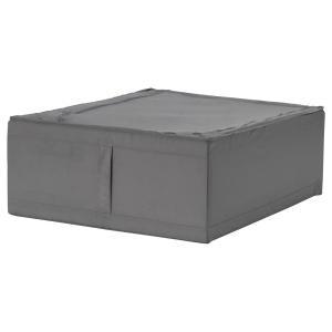 - ベッドリネンや枕、シーツなどを入れて、ベッドの下に収納できます - サイドに持ち手が付いているの...