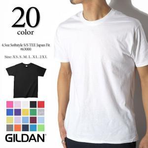 GILDAN ギルダン 4.5oz ジャパンフィット コットンTシャツ 63000