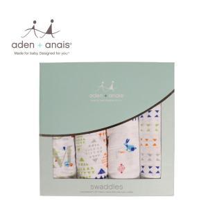 商品名:aden and anais エイデンアンドアネイ おくるみ 出産祝い 4枚セット2057 ...
