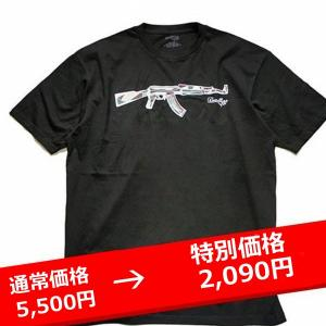 【 DEADLINE 】 デッドライン  Tシャツ Stained Glass AK-47 Tee 黒|lay-z-boy