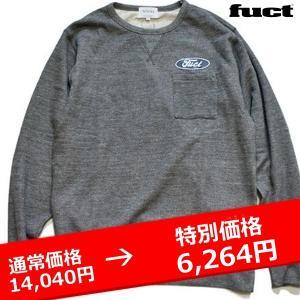 ★FUCT SSDD F OVAL SWEAT SHIRT ファクト スウェットシャツ|lay-z-boy