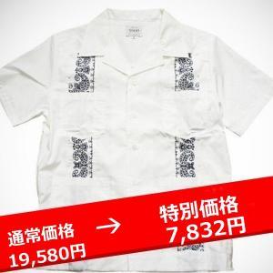 ★FUCT SSDD GUAYABERA SHIRT 白 ファクト シャツ lay-z-boy