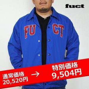 FUCT SSDD ACADEMY LOGO COACH JACKET コーチジャケット 青|lay-z-boy