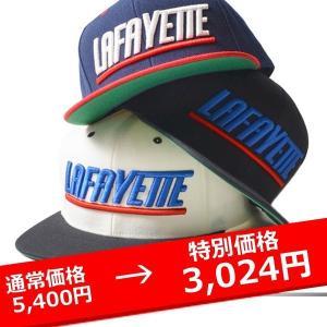 LAFAYETTE SPORTS LOGO SNAP BACK CAP ラファイエット スナップバック キャップ lay-z-boy