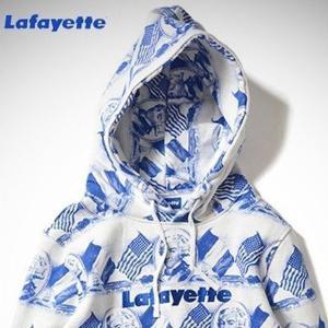 LAFAYETTE LOGO ALL OVER SWEATSHIRT La fayette スウェット パーカー ラファイエット|lay-z-boy