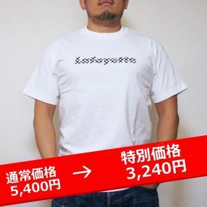 LAFAYETTE Lafayette CHECKER LOGO TEE ラファイエット チェッカーロゴ Tシャツ 白 【再入荷】|lay-z-boy