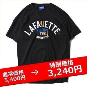 Lafayette FUCK'N CREW TEE 黒 ラファイエット Tシャツ|lay-z-boy