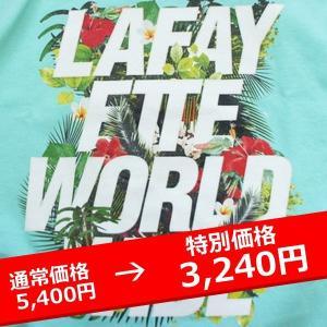 LAFAYETTE ラファイエット Tシャツ ISLAND TEE ミントMINT lay-z-boy