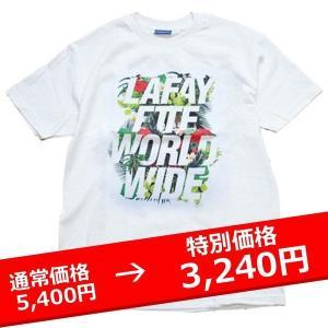 LAFAYETTE ISLAND TEE 白 ラファイエット Tシャツ lay-z-boy