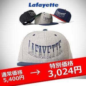 LAFAYETTE キャップ 帽子 BONE ARCH LOGO SNAP BACK CAP lay-z-boy