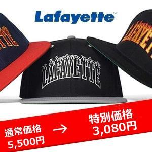 FIRE PATTERN LOGO SNAPBACK CAPラファイエット キャップ 帽子 lay-z-boy