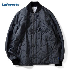 LAFAYETTE  POLY QUILTED LINER JACKET CAMO ラファイエット キルティング ライナー ジャケット カモ|lay-z-boy