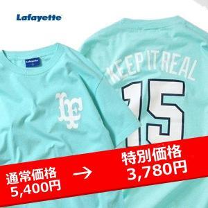 LAFAYETTE  LF LOGO ALL-STAR MEMORIAL TEE ラファイエット オールスターメモリアルTシャツ ミント MINT|lay-z-boy